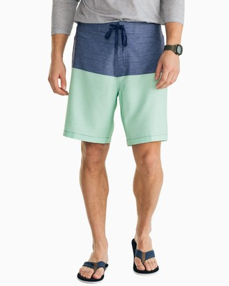 Southern Tide Color Blocked Swim Short