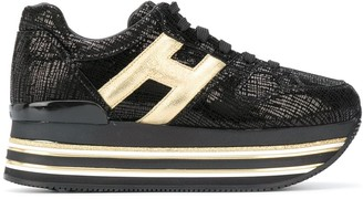 Hogan Maxi H222 leather sneakers