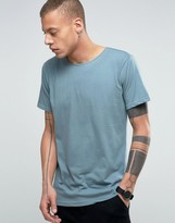 Dr Denim Patrick T-shirt In Misty Green