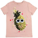 Stella McCartney Pineapple Printed Cotton Jersey T-Shirt