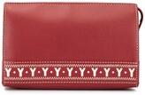 Saint Laurent Pre Owned logo cutout cosmetic pouch