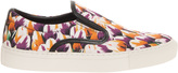 Mother of Pearl Achilles Red Tulip Print Shoe