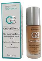 Exuviance CoverBlend Skin Caring Foundations SPF 20 Honey Sand by