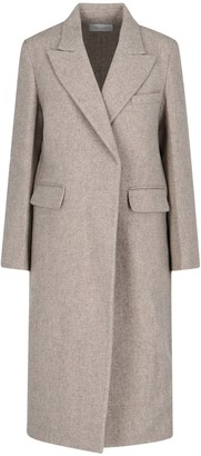 Low Classic Double-Breasted Coat