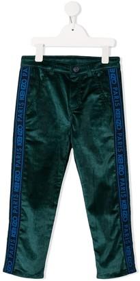 Kenzo Kids Corduroy Logo Trousers