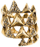 House Of Harlow Crystal Band Ring