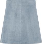 Diane von Furstenberg Jenny Suede Mini Skirt
