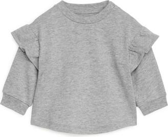 Arket Frill Sweatshirt