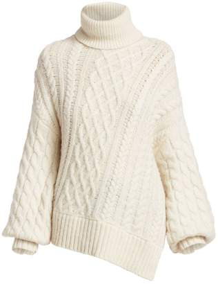 A.L.C. Nevelson Cable Knit Turtleneck Sweater