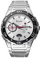 Bulova Men's 98A000 Marine Star Alarm Dial Watch