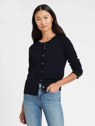 Banana Republic Merino Cardigan Sweater in Responsible Wool