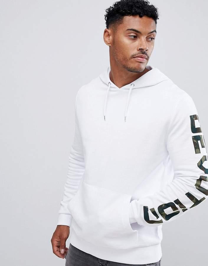 Men's Clothing Asos Split Side White Sweatshirt Hoodies & Sweatshirts Womens Size 10