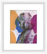 """PTM Images Profiles Framed Giclee Frame Art - 14\"""" x 16\"""""""
