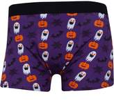 Fluid Mens Novelty Halloween Trunks Purple/Multi