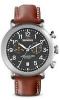 Shinola The Runwell Chrono Stainless Steel Watch