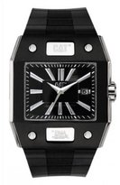 Caterpillar N414121121 mm Stainless Steel Case Black Rubber Mineral Men's Watch