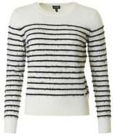 Armani Jeans Striped Eyelash Knit
