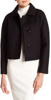 Milly Honeycomb Solid Textured Jacket