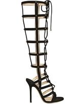 Jimmy Choo 110mm Mogul Suede Gladiator Sandals