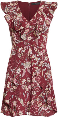 BCBGMAXAZRIA Floral Toile Dress