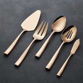 Crate & Barrel Couture Copper 5-Piece Serving Set