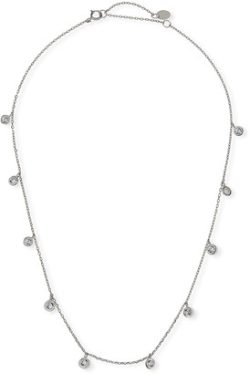 Helena Kid Girl's Cubic Zirconia Drop Sterling Necklace