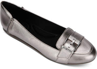 Kenneth Cole Reaction Women Viv Buckle Loafer Flats Women Shoes