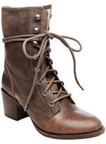 Soho Cobbler Women's Cameliah Leather Trooper Boots
