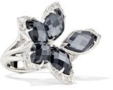 Stephen Webster Love Me, Love Me Not 18-karat White Gold Multi-stone Ring
