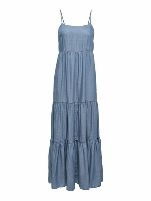 Only Women's ONLMIKKA Life REG LYOCEL DNM Dress York