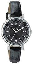 Titan Women's 'Neo' Quartz Metal and Leather Casual Watch, Color:Black (Model: 2554SL02)