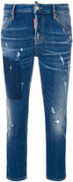 DSQUARED2 Cool Girl cropped jeans - women - Cotton/Spandex/Elastane - 42
