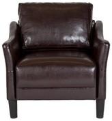 Mitesh Armchair Winston Porter Upholstery Color: Brown