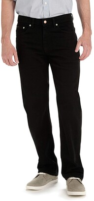 Lee Men's Big and Tall Big & Tall Custom Fit Relaxed Straight Leg Jean