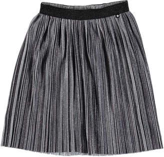 Molo Girl's Bailini Pleated Lurex Skirt, Size 3T-16