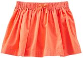 Osh Kosh Toddler Girl Neon Corduroy Skirt