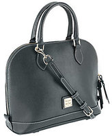 Dooney & Bourke As Is Saffiano Leather Zip Zip Satchel