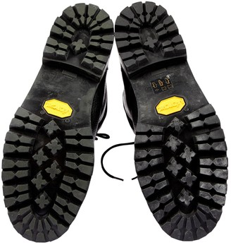 Roberto Cavalli Grey Velvet Ankle boots