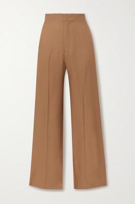 GAUCHERE Rilla Twill Straight-leg Pants - Camel