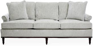 Michael Thomas Collection Garbo Sofa - Gray Chenille