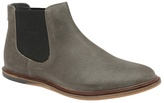 Frank Wright Grey 'vogts' Flat Slip On Chelsea Boots