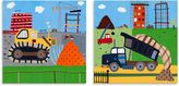 Oopsy Daisy Fine Art For Kids Too Build It 2-Piece Canvas Wall Art