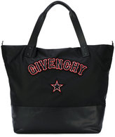 Givenchy gothic patch shoulder bag - women - Acrylic/Polyamide - One Size