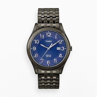 Timex Stainless Steel Black Ion Expansion Watch - T2P203 - Men