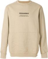 MHI long sleeved printed sweatshirt