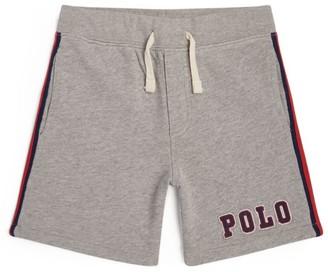 Ralph Lauren Kids Side-Stripe Logo Shorts (5-7 Years)