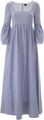 STAUD Striped Maxi Dress