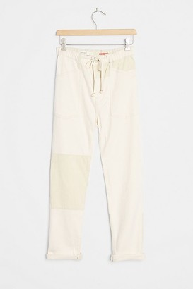 Pilcro Ultra High-Rise Pull-On Utility Jeans