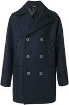Lanvin double-breasted coat - men - Cotton/Viscose/Wool - 48
