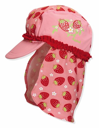 Playshoes Girl's UV Sun Protection Strawberies Swim Cap